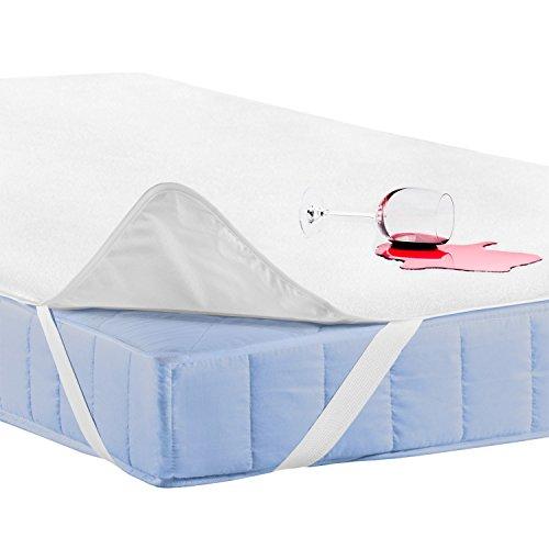 Feluna® vattentätt madrassskydd vattentätt madrassskydd av bambufiber (120x200cm)