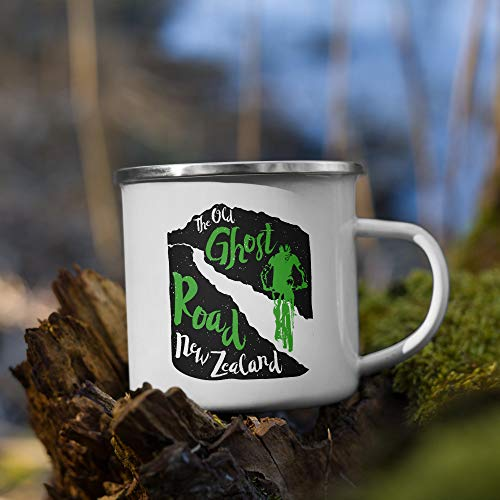 Old Ghost Road - New Zealand Enamel Mug
