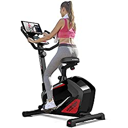 Harison Magnetic Resistance Upright Exercise Bike for Indoor, Home, Gym, Cardio Use