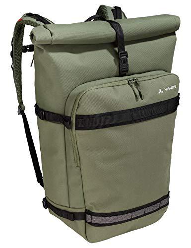 VAUDE ExCycling Pack, Multifunktionsrucksack fürs Fahrrad-Commuting Sporttasche, 50 cm, 40 Liter, Cedar Wood