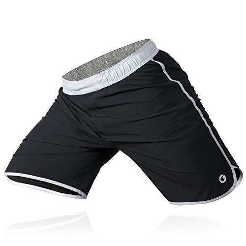 YSYFZ Mens Free Fighting Shorts Boxing Running Fitness Training Shorts MMA BJJ UFC