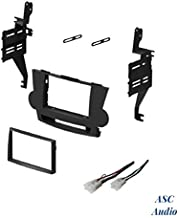 ASC Audio Car Stereo Dash Install Kit and Wire Harness for Installing an Aftermarket Double Din Radio for 2008 2009 2010 2011 Toyota Highlander - No JBL / Factory Premium Amp