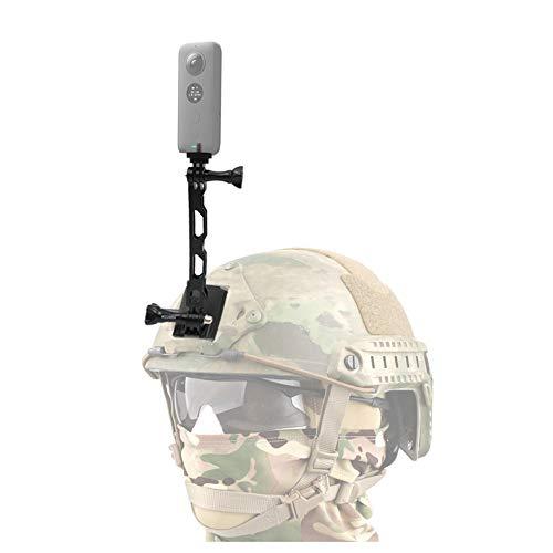 VGSION 360 Camera Accessories Tactical NVG Helmet Mount for Insta360 one x/GoPro Hero 8 /Rylo/Garmin VIRB 360 /Samsung Gear 360 / Ricoh Theta