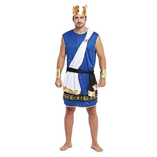 Zhuhaitf Karneval Mittelalterlich Fancy Dress Kostüm Partei Mittlerer Osten Outfit für Halloween Herren Cosplay Dubai Araber Robe Set Style 5-8 Available