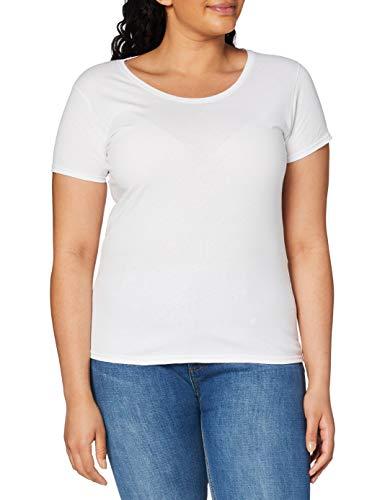 Fruit of the Loom–T-Shirt Femme - Blanc - Medium