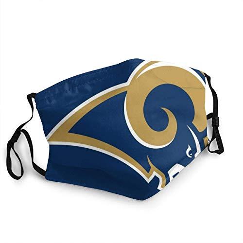 YYTT8 Gesichtsschutz Mundschutz Nasenschutz Wiederverwendbar Waschbar Gesichts Schals St. Louis Rams