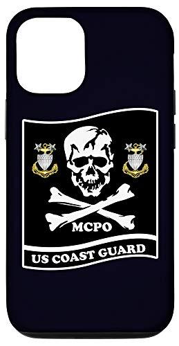 iPhone 12/12 Pro COAST GUARD MASTER CHIEF SKULL LOGO Case