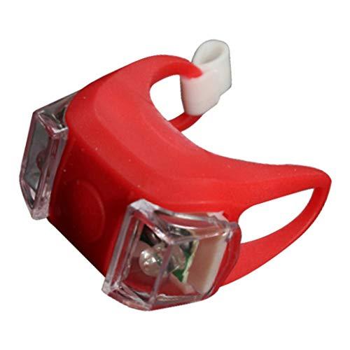 Hellery Antorcha de La Lámpara de La Luz Trasera del Faro de La Luz para La Vespa de La Bici del de Montaña - Rojo