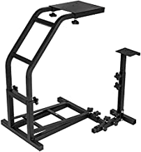 $89 » Sponsored Ad - Marada Racing Wheel Stand Adjustable Height Steering Wheel Simulator Stand for Logitech G29/G27/G25/G920 Th...