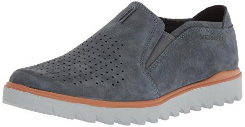 Merrell Men's Downtown MOC Sneaker, Slate, 9.5 Medium US