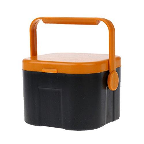Perfeclan Live Bait Box Worms Regenwurm Halter Container Angelgerät Fall Mit Clip