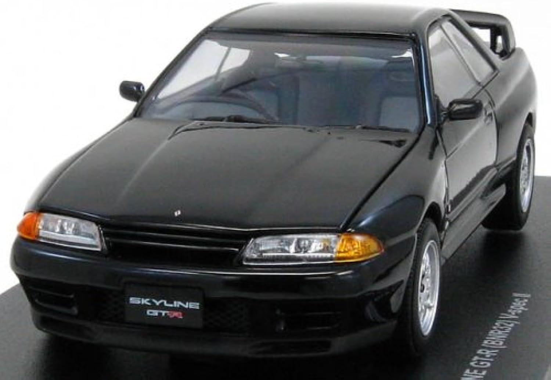 Original Kyosho 1 43 Skyline GTR (R32) V spec 2   Black (japan import)