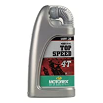 MOTOREX [ モトレックス ] 4T TOP SPEED [ トップスピード ] 10W-30 [ MA・SL ] 鉱物油 [ 1L ] 69885 [HTRC3]