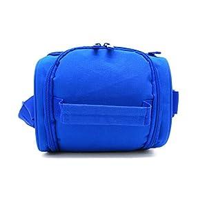 41 Wo0Ia5DL. SS300  - Leyendas Bolsa Térmica Porta Alimentos Comida Almuerzo Oferta Color Liso o con Dibujo 6 litros (Azul)