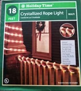 18 Feet Out/indoor Multi-color Crystallized Rope Light