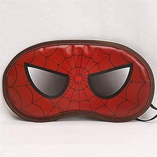 CJB Spiderman Super Hero Eye Mask for Sleeping Travel Games Red