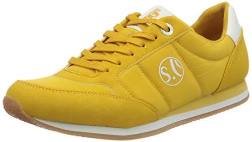 s.Oliver Damen 5-5-23680-24 Sneaker, Gelb (Yellow Uni 605), 38 EU