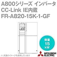 三菱電機(MITSUBISHI) FR-A820-15K-1-GF CC-Link IE内蔵インバータ FREQROL-A800シリーズ 三相200V (容量:15kW) (FMタイプ) NN