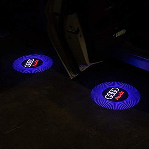 4 Stücke Autotür Logo Projektion Licht Türbeleuchtung Willkommen Licht Einstiegsbeleuchtung by Albright