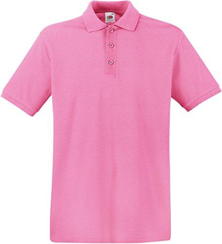 Fruit of the Loom Herren Poloshirt SS035M L,Light Pink
