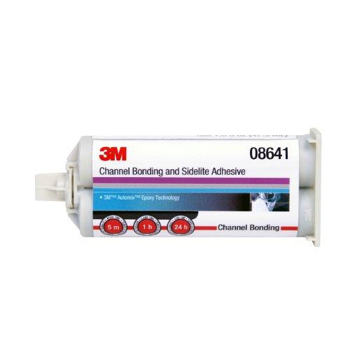 3M Channel Bonding and Sidelite Adhesive, 08641, 47.3 mL Cartridge