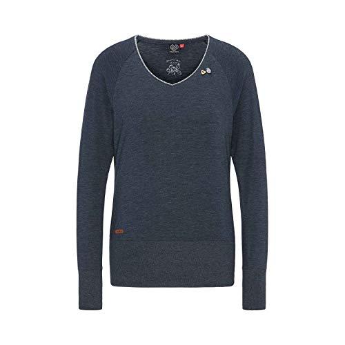 Ragwear Sweater Damen Bernice 1921-25001 Dunkelblau Navy 2028, Größe:M