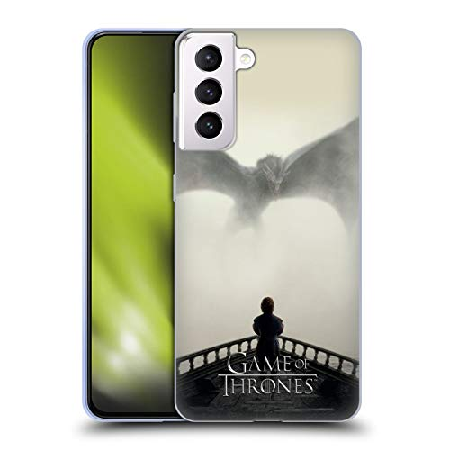 Head Case Designs Officially Licensed HBO Game of Thrones Vengeance Key Art Soft Gel Case Compatible with Samsung Galaxy S21+ 5G