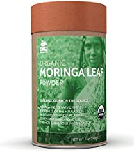 OMG! Superfoods Organic Moringa Powder - 100% Pure, USDA Certified Organic Moringa Leaf Powder-7oz