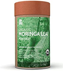 THE FAMOUS SUPERFOOD: Looking for a way of naturally boosting your immune system and lowering inflammation? Would you like to help your body detox and get its essential nutrients from nature? OMG! Organic Moringa Leaf Powder is the way to go! PUREST ...
