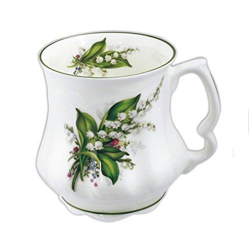 David Michael - Großmutter Große Kaffee-Tee-Becher mit Maiglöckchen