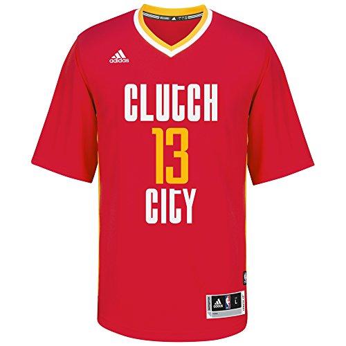 adidas NBA Houston Rockets James Harden # 13Hombres de la réplica de la Camiseta, Talla XL, Color Rojo (3nd)