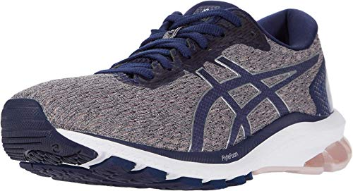 ASICS Women's GT-1000 9 Running Shoes, 8.5M, Watershed Rose/Peacoat