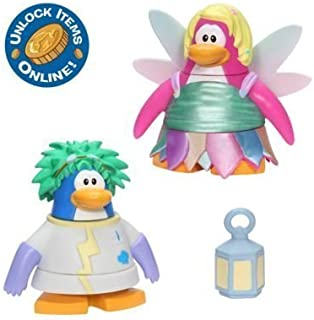 Club Penguin 2 Inch Mix 'N Match Figure Pack - Rad Scientist and Faery - Series 4 by Disney