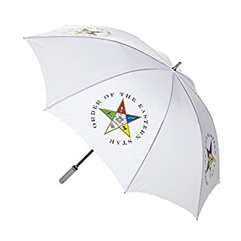 Order Of The Eastern Star 30  Jumbo Umbrella