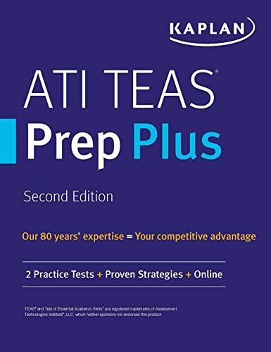 ATI TEAS Prep Plus: 2 Practice Tests + Proven Strategies + Online (Kaplan Test Prep) (English Edition)