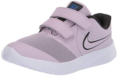 Nike Star Runner 2 (TDV), Zapatilla de Correr Unisex niños, Ice Lilac/Off Noir-Soar-White, 27 EU