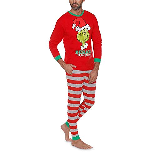 Los Pijamas Set de Navidad para Mujer para Hombre de Las