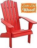 PolyTEAK Element Adirondack Stuhl aus Polyteak-Kunstholz