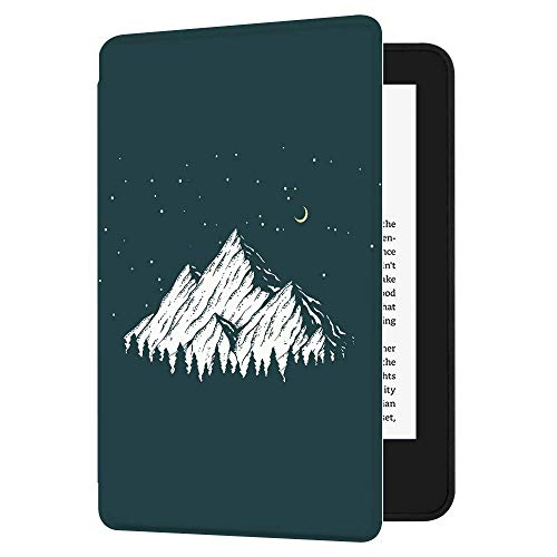 Huasiru Painting Case for All-New Kindle (10th Gen – 2019 Release only—Will not fit Kindle Paperwhite or Kindle Oasis), Mountain