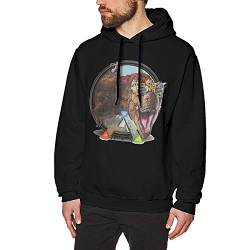 MYHL Men's ARK Survival Evolved Graphic Fashion Sport Hip Hop Hoodie Sweatshirt Pullover Tops
