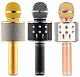 KWT Advance Handheld Wireless Singing Mike Multi-function Bluetooth Karaoke Mic With Microphone Speaker For All Smart Phones iOS/Android, Wireless Microphone(Multi-) bluetooth mics May, 2021