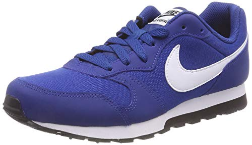 Nike Herren MD Runner 2 (GS) Laufschuhe, Blau (Gym Blue/White-Black 411), 37.5 EU