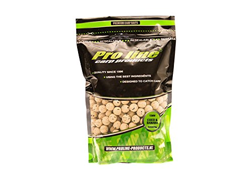 Pro Line Readymades Boilies - Coco & Banana 20 mm - 1 kg