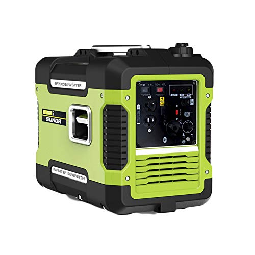 SUNGA インバーター 発電機 1.7KVA 1700VA 最大1.88KVA 純正弦波 100V 50Hz/60Hz切替 USB出力 防音・静音設計 ガソリン式 発電機 PSE認証済