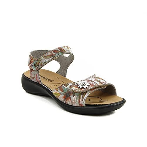 WESTLAND - Sandalia Velcro Pulsera Suela: Goma con: Velcro para: Mujer Color: Multicolor Talla:35