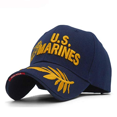 ZHXMI Unisex Hombres US Marines Cap Corps Gorra de béisbol...