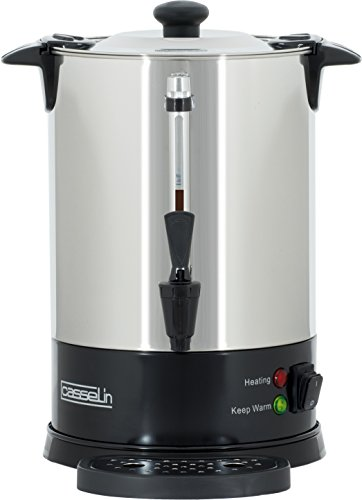 Casselin cpc48s percolador de café 48tazas SP, acero inoxidable