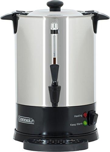 CASSELIN CPC48S Percolateur à Café 48 Tasses Sp, INOX