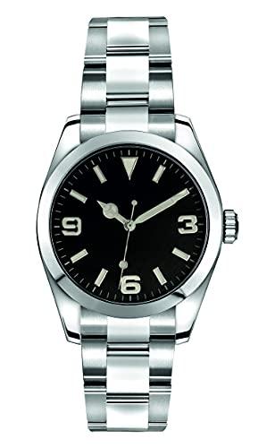 Collectors Club TW1010 Reloj automático de pulsera de acero inoxidable 316L Miyota cristal de zafiro, 5 bar, resistente al agua