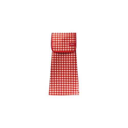 Les Artiste Paris a-1604 tas kinderwagen Vichy stof rood/wit